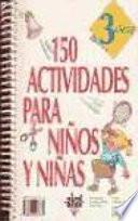 150 actividades para niños y niñas de 3 años