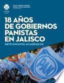 18 años de gobiernos panistas en Jalisco