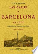 3T_LAS CALLES DE BARCELONA EN 1865