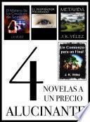 4 Novelas a un Precio Alucinante