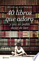 40 libros que adoro