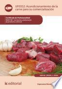 Acondicionamiento de la carne para su comercialización. INAI0108