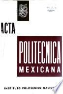 Acta politécnica méxicana