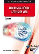 Administración de servicios web.
