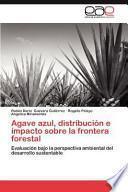 Agave azul, distribución e impacto sobre la frontera forestal