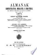 Almanak administrativo, mercantil e industrial da corte e provincia do Rio de Janeiro, e indicador para ...