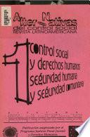 Alter-nativas del control social