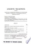 Analecta malacitana