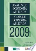 Anales de Economía Aplicada 2009