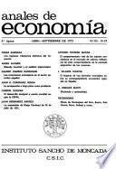 Anales de Economía
