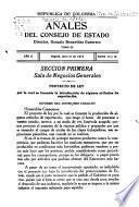Anales del Consejo de Estado