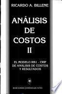 Análisis de costos II