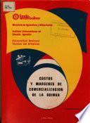 Analisis de Los Costos Y Canales de Comercializacion de la Quinua