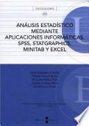 Análisis estadístico mediante aplicaciones informáticas