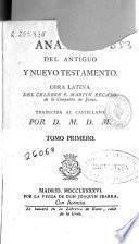 Analogía del Antiguo y Nuevo Testamento
