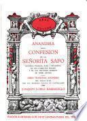 Anandria, confesion de la señorita Safo