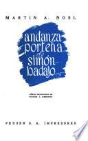 Andanza porteña de Simón Badajo