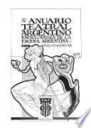 Annuario teatral argentino