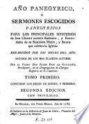 Año panegyrico, ó Sermones escogidos panegyricos, 1