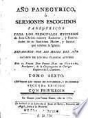 Año panegyrico, ó Sermones escogidos panegyricos, 6