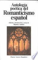Antología poética del romanticismo español