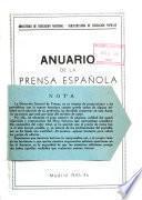 Anuario de la prensa española