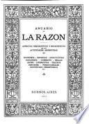 Anuario [de] la Razón