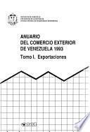 Anuario del comercio exterior de Venezuela
