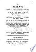 Aparato para la correccion y adicion de la obra que publicó en 1769 el Dor. D. Joseph Berní y Catalá ... con el titulo Creacion, antiguedad y privilegios de los titulos de Castilla