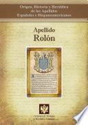 Apellido Rolón