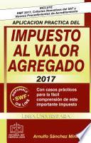 APLICACION PRACTICA DEL IMPUESTO AL VALOR AGREGADO 2017
