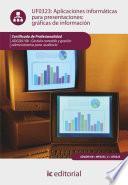 Aplicaciones informáticas para presentaciones: gráficas de información. ADGD0108