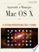 Aprende a manejar Mac OS X