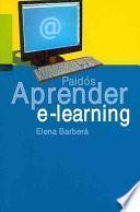 Aprender e-learning