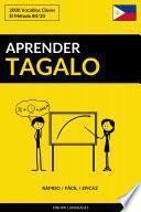 Aprender Tagalo - Rápido / Fácil / Eficaz
