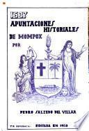 Apuntaciones historiales de Mompox