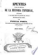 Apuntes para el estudio de la Historia Universal