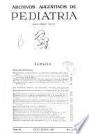 Archivos argentinos de pediatría