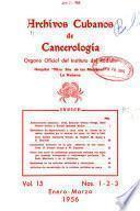 Archivos cubanos de cancerología