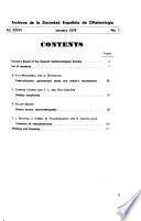Archivos de la Sociedad Espaõla de Oftalmología