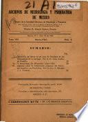 Archivos de neurología y psiquiatría de México