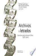 Archivos i letrados