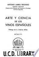 Arte y ciencia de los vinos españoles