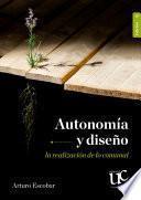 Autonomía y diseño
