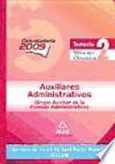 Auxiliares administrativos del servicio de salud de castilla-la mancha (sescam). Temario. Volumen ii: ofimática