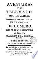 Aventuras de Telémaco, hijo de Ulises, 2