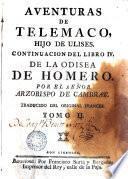Aventuras de Telemaco hijo de Ulises, 2