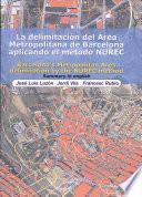 Barcelona's metropolitan area delimitation by the NUREC method