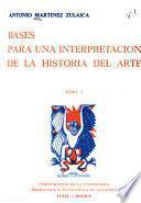 Bases para una interpretación de la historia del arte