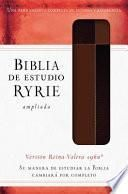 Biblia/Estudio/Ryrie Amp-Marrón Duo Ind